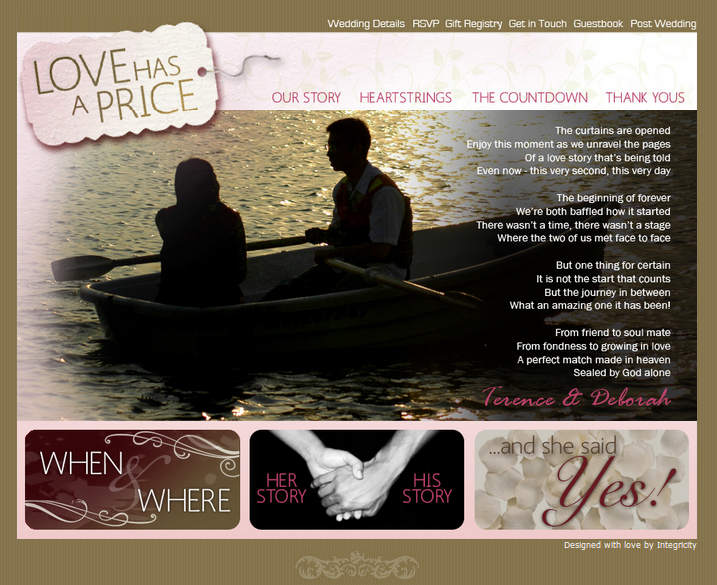 Client: Love Has a Price