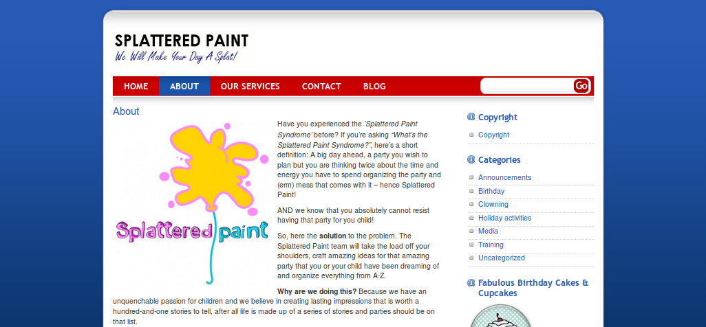 Client: Splattered Paint
